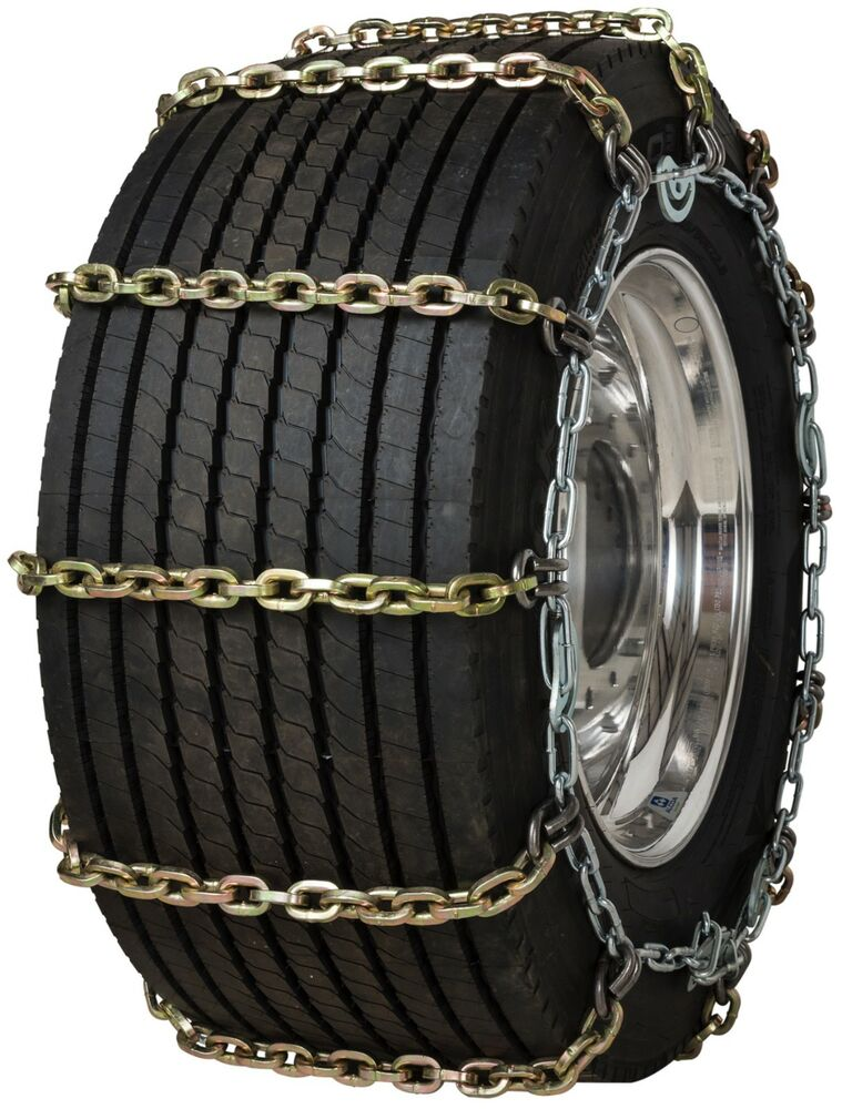 quality chain 3161hdqc super single 10mm square link cam tire chains snow truck ebay. Black Bedroom Furniture Sets. Home Design Ideas
