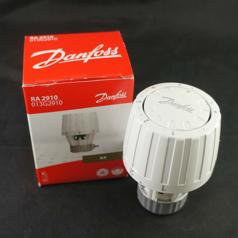 danfoss ra2910 fixed thermostat radiator valve sensor head 013g2910 ebay. Black Bedroom Furniture Sets. Home Design Ideas