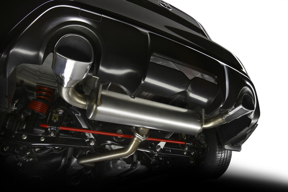 Toyota 86 2017 Trd Cat Back Performance Dual Exhaust