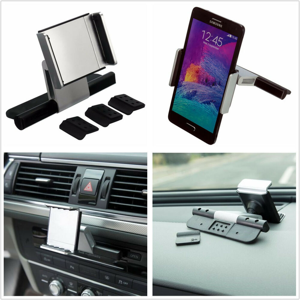 multifunctional car off road stereo cd slot cell phone holder mount bracket kit ebay. Black Bedroom Furniture Sets. Home Design Ideas
