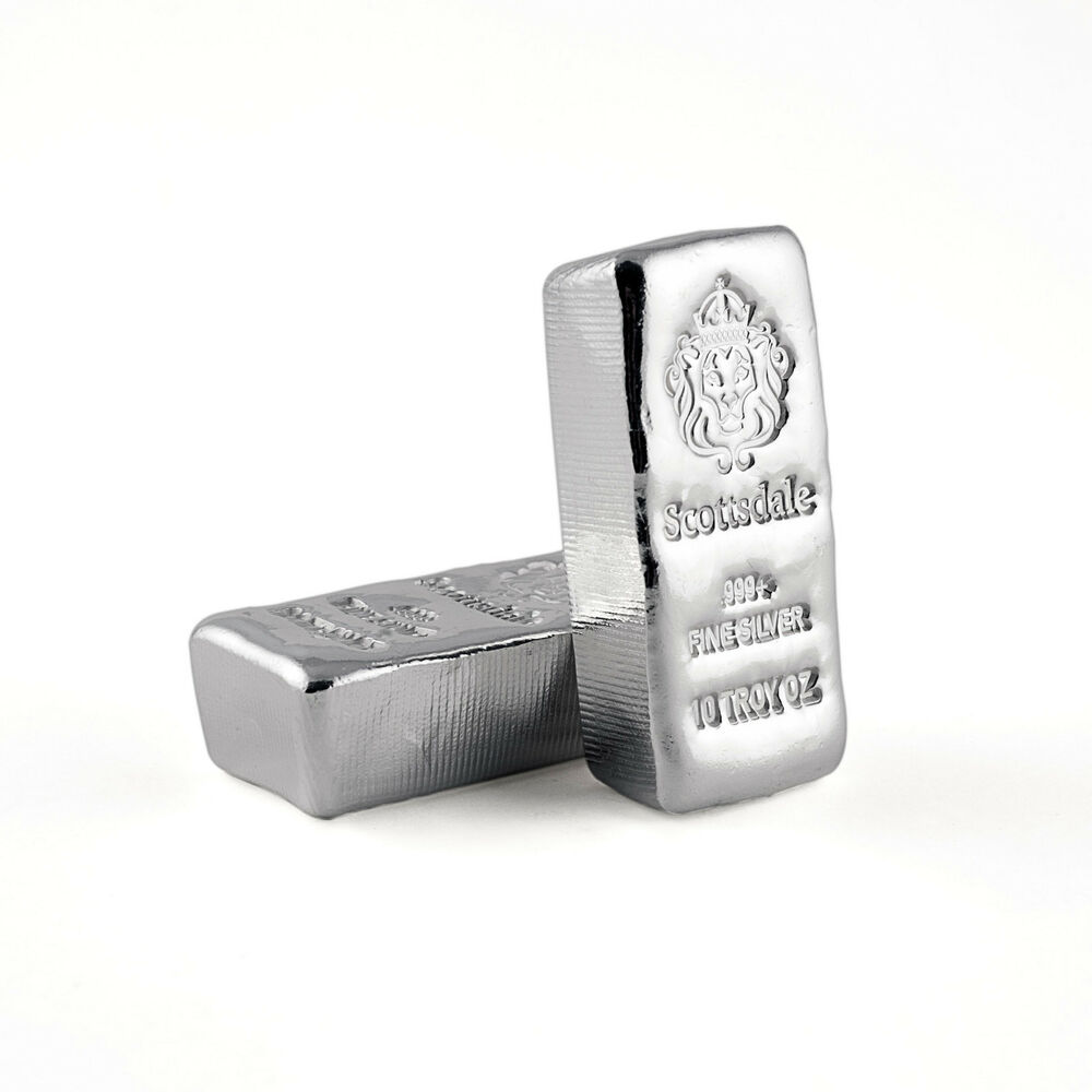 2 X 10 Oz 999 Silver Bars Loaf Poured Quot Chunky Quot Bullion