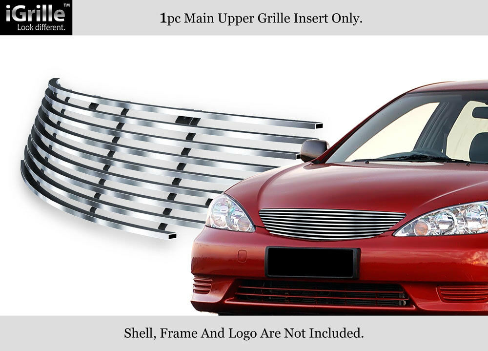 fits 2002 2006 toyota camry stainless steel billet grille ebay. Black Bedroom Furniture Sets. Home Design Ideas