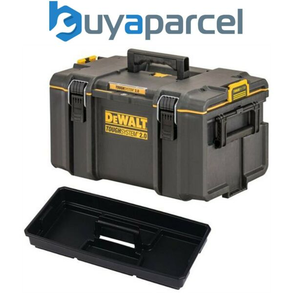 Dewalt DS300 Toughsystem Case and Toolbox with Tote Tray 1-70-322