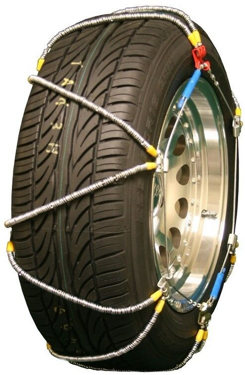 Snow Tire Chains  Cars Pickups SUVs HeavyDuty Trucks