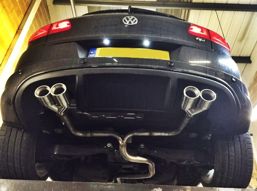 Vw Tiguan Quad Exhaust System 2 0 Diesel Custom Exhaust Performance Exhaust Ebay