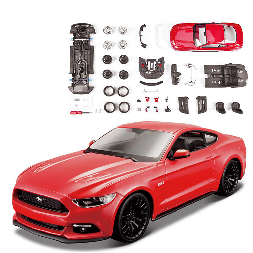 Maisto 1 24 Ford Mustang Gt Diecast Assembly Line Metal