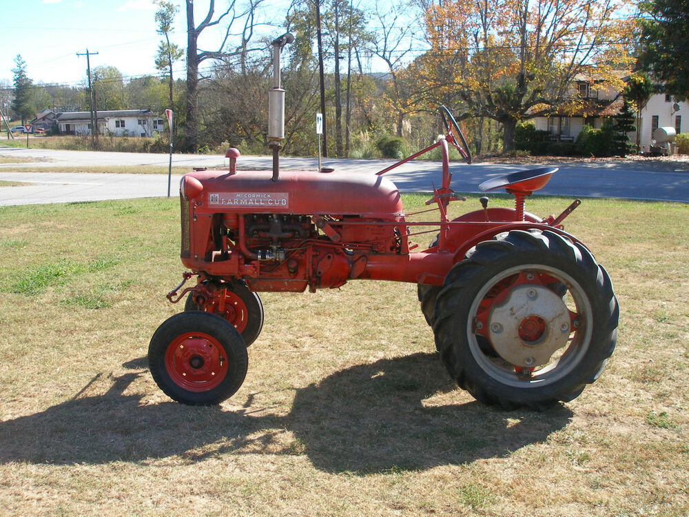 Farm All Tractor : Nice original farmall cub tractor ebay