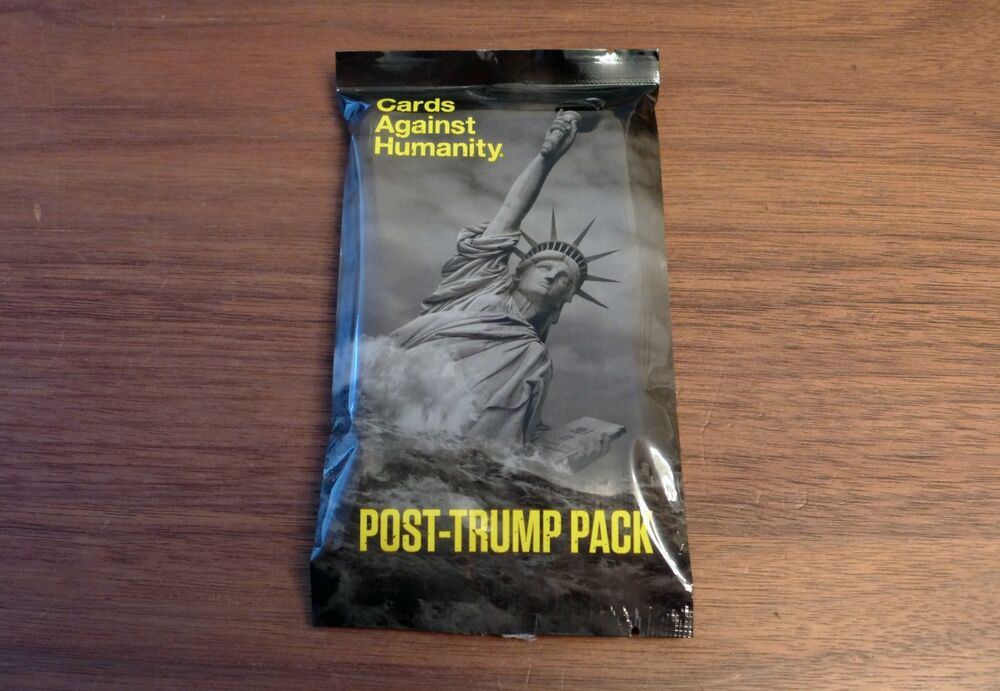 Cards Against Humanity - Post-Trump Pack - Expansion Set ...