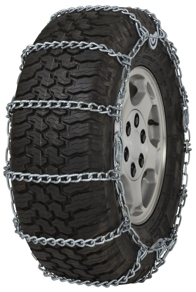 265 70 17 265 70r17 tire chains link cam snow traction suv light truck ice ebay. Black Bedroom Furniture Sets. Home Design Ideas