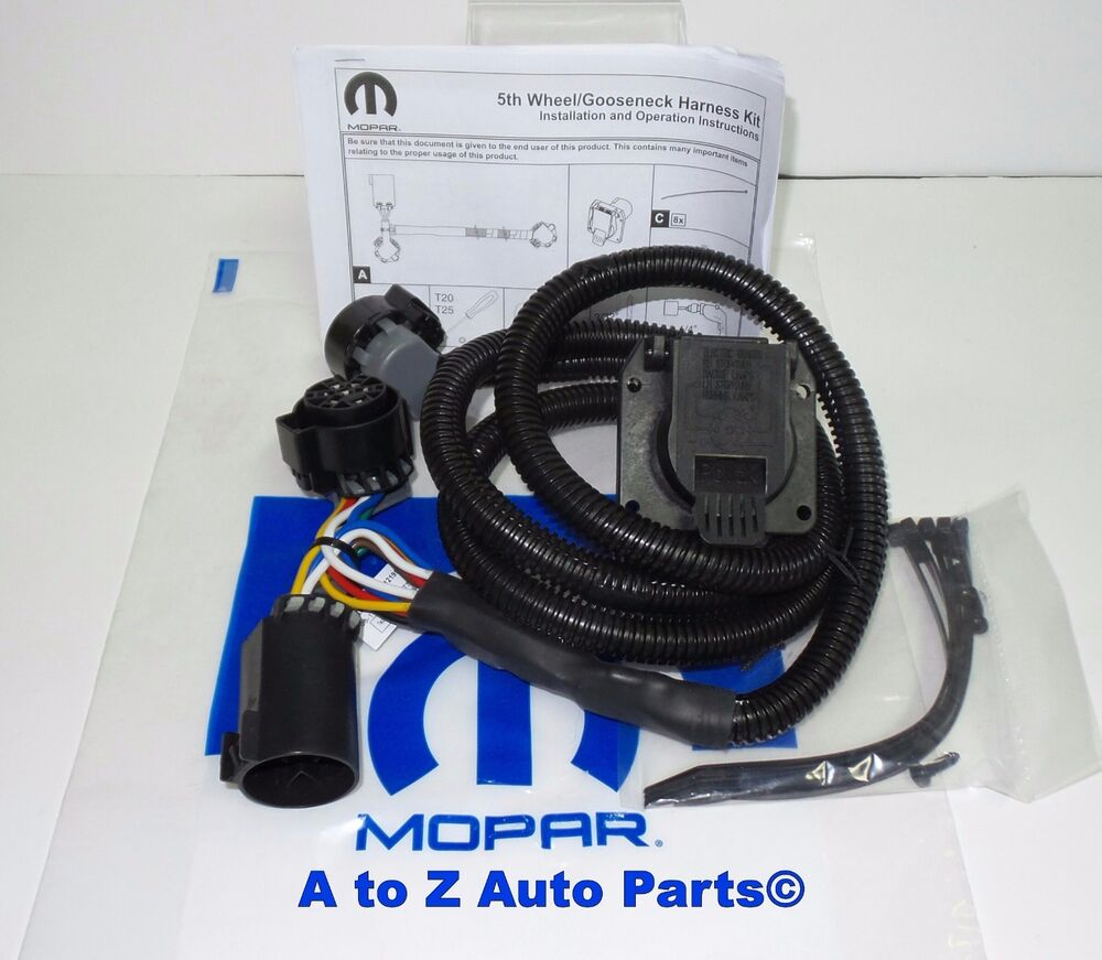 2010-2018 Dodge Ram HD 2500,3500 5th Wheel / Gooseneck In Bed Trailer Wiring  Kit | eBay