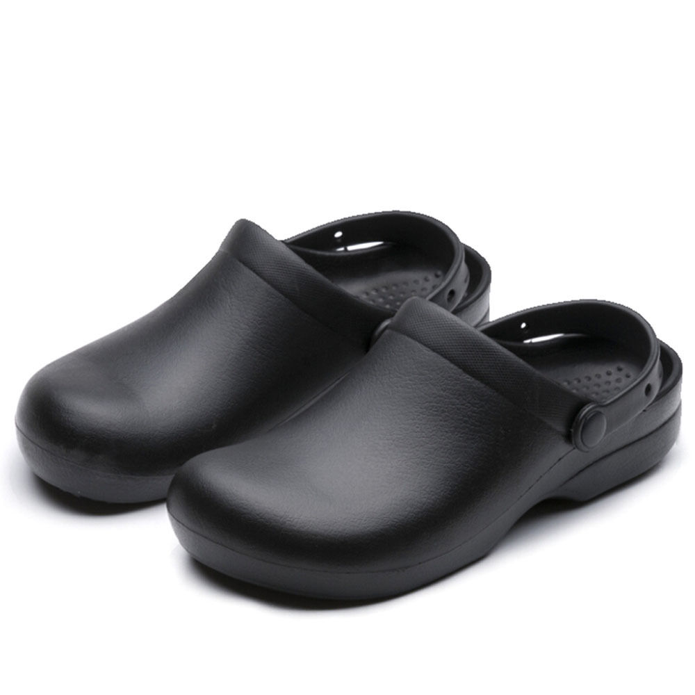 WAKO Mens Kitchen Chef Shoes Nonslip Safety Shoes Oil