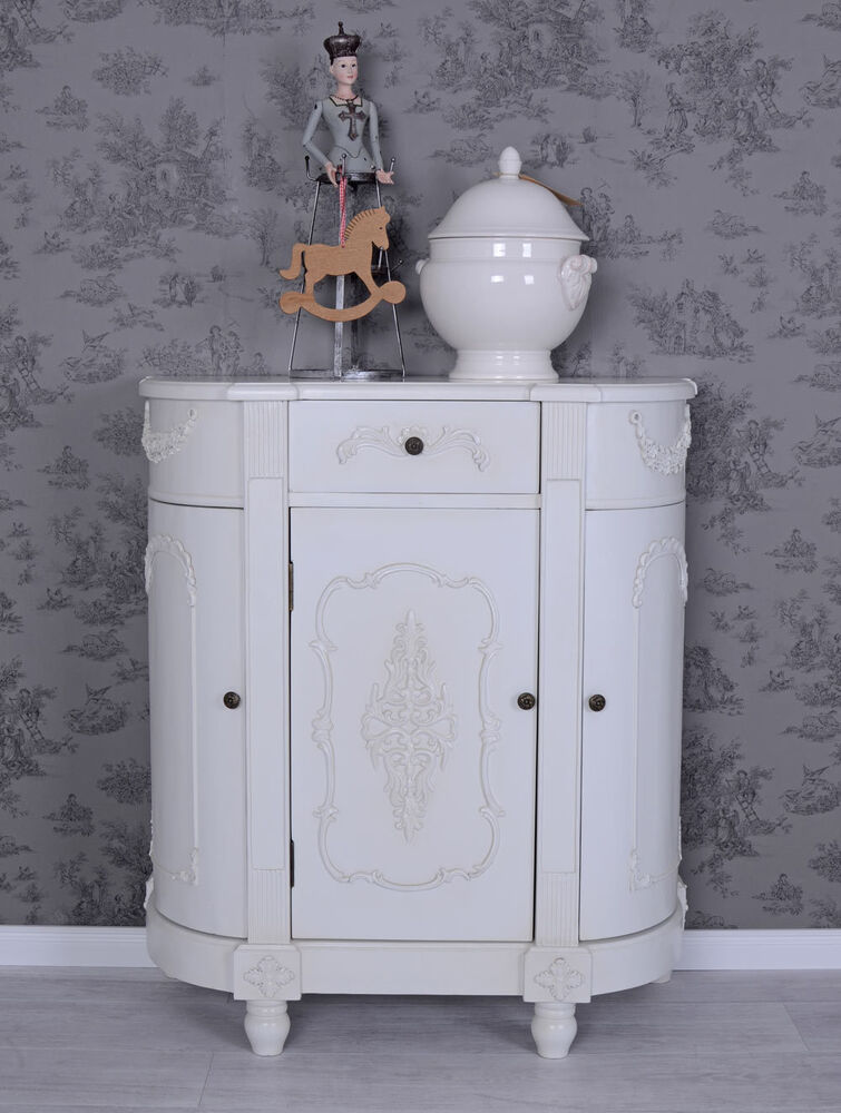 vintage schrank weiss schubladenschrank shabby chic. Black Bedroom Furniture Sets. Home Design Ideas
