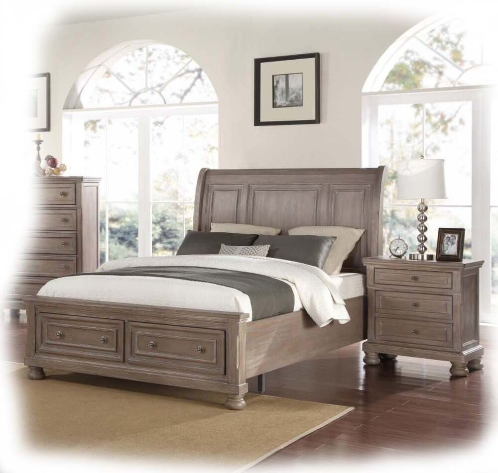 adair 3 piece king size tawny timber bedroom suite brand