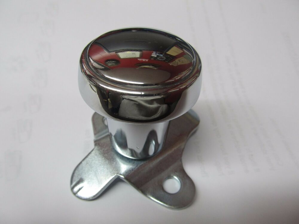 Tractor Steering Knobs : Steering wheel spinner knob tractor polished aluminum