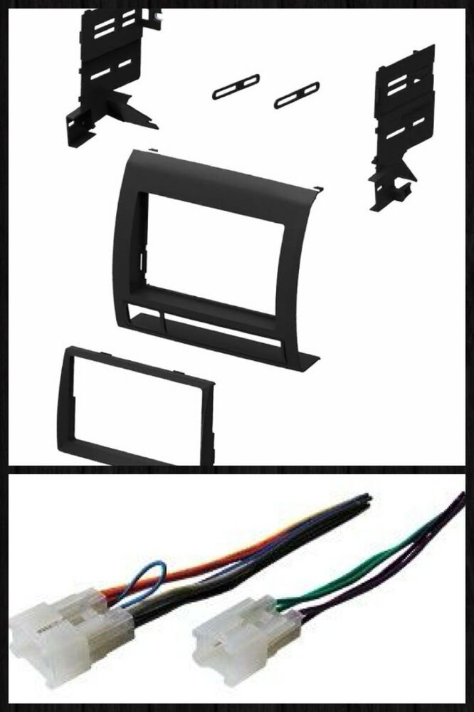 Double Din Radio Kit Combo For Some 2005 2006 2007 2008