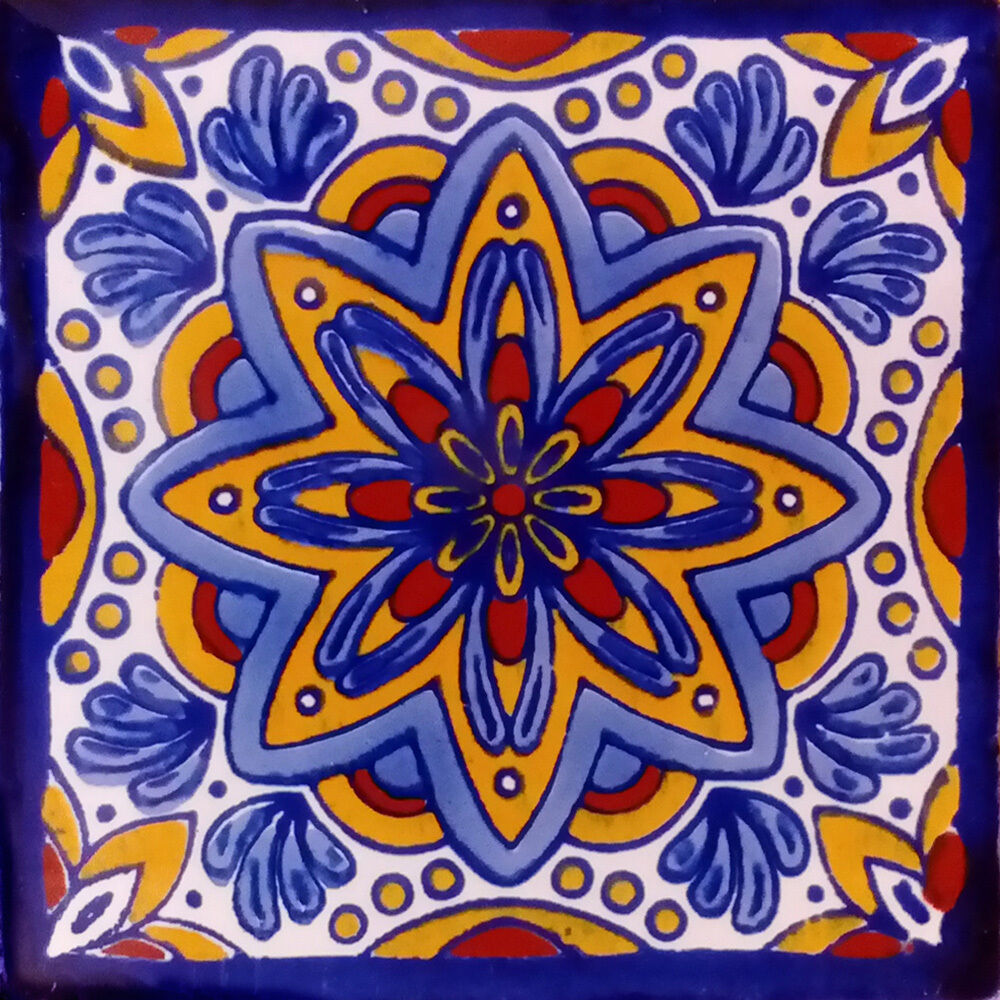 Mexican Hand Painted Tiles Uk