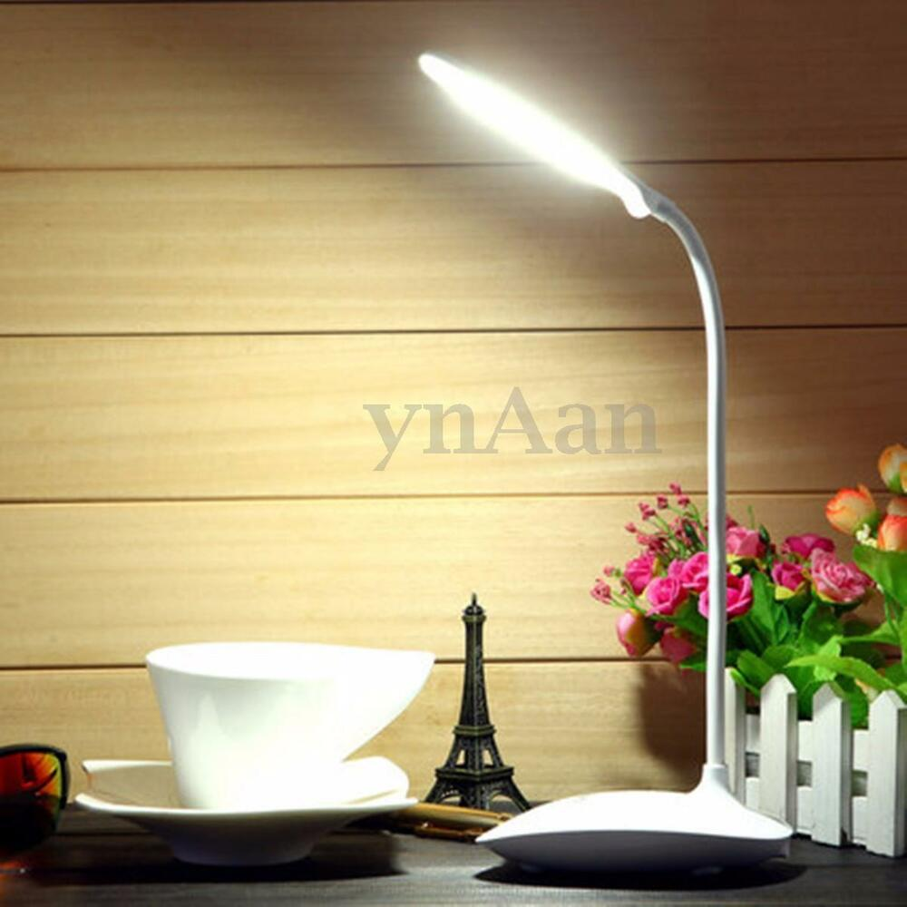 Flexible Rechargeable Dimmable Usb Led Night Light Desktop