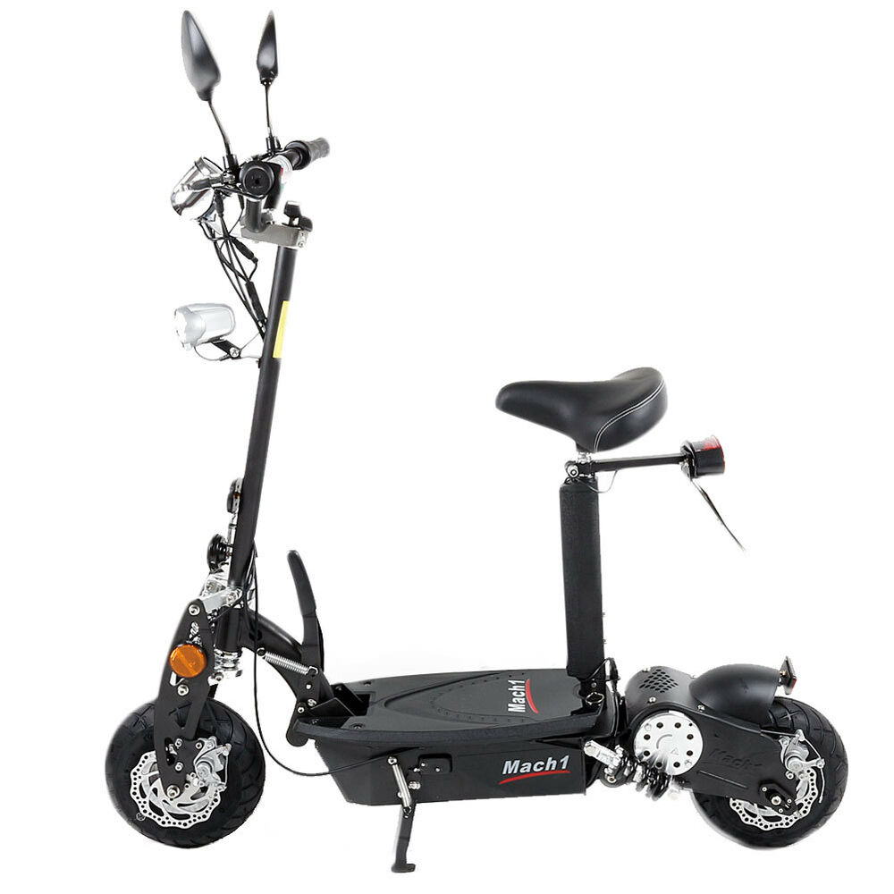 mach1 e scooter 500w 36v mit strassenzulassung mofa scooter elektro roller 1693 ebay. Black Bedroom Furniture Sets. Home Design Ideas