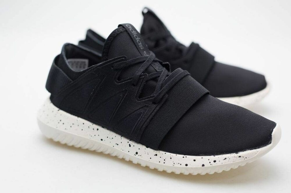 separation shoes 3143c 1231d Details about ADIDAS ORIGINALS TUBULAR VIRAL W WOMEN SHOES BLACK WHITE  S75915 7 9.5 10