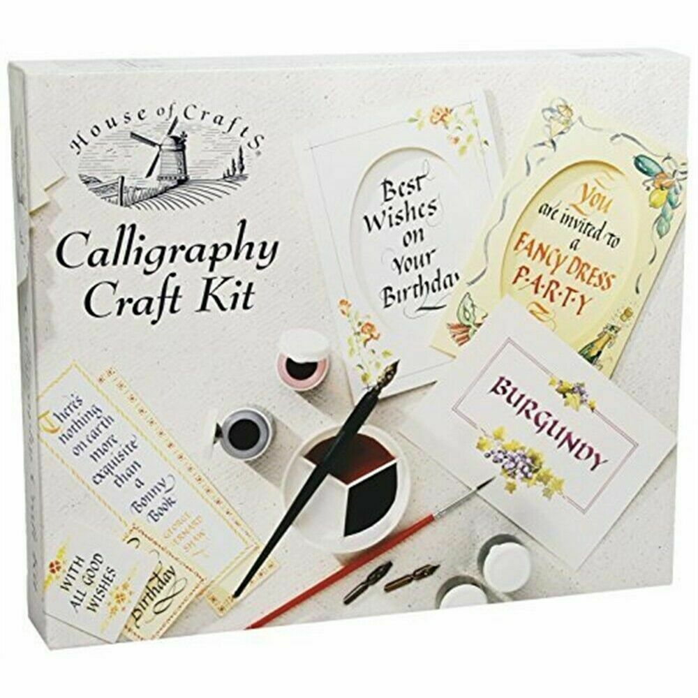 House Of Crafts Calligraphy Craft Kit Creative Writing