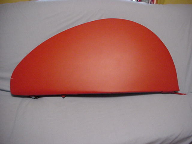 New Steel Tear Drop Fender Skirts Fit Ford Chevy Buick