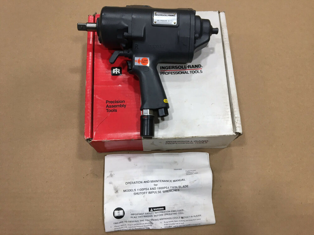 ingersoll rand pneumatic pulse impact wrench ir 1900ps4 ebay