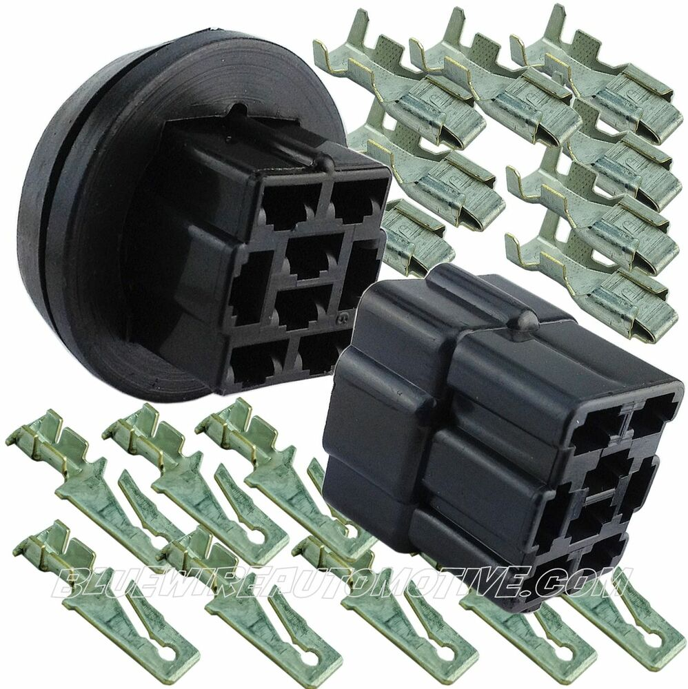 Universal Engine Bay Bulkhead Firewall Port Grommet Plug Connector Car Wiring Harness Chevy Hot Rod Ebay