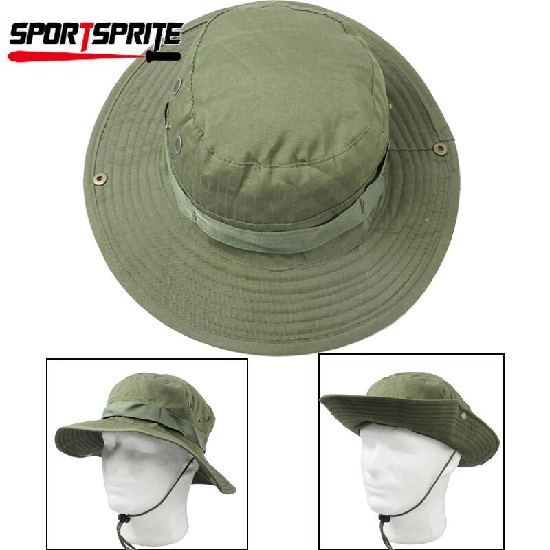 Outdoor hunting fishing boonie hat military army bucket for Fishing boonie hat