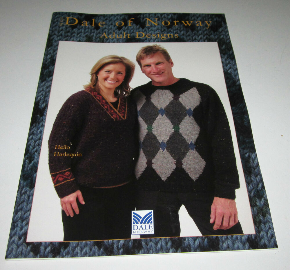 Dale Of Norway Knitting Pattern Books : DALE of NORWAY ADULT knitting yarn pattern book #8307 with 11 designs eBay