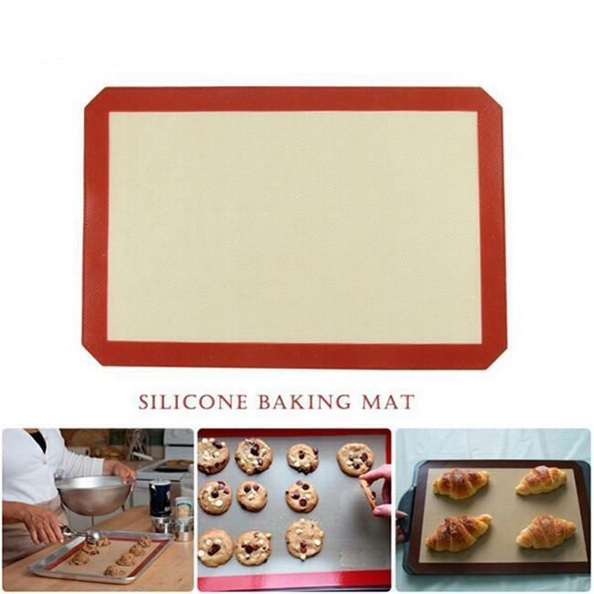 Nonstick Silicone Mat Baking Oven Pastry Liner Cookie
