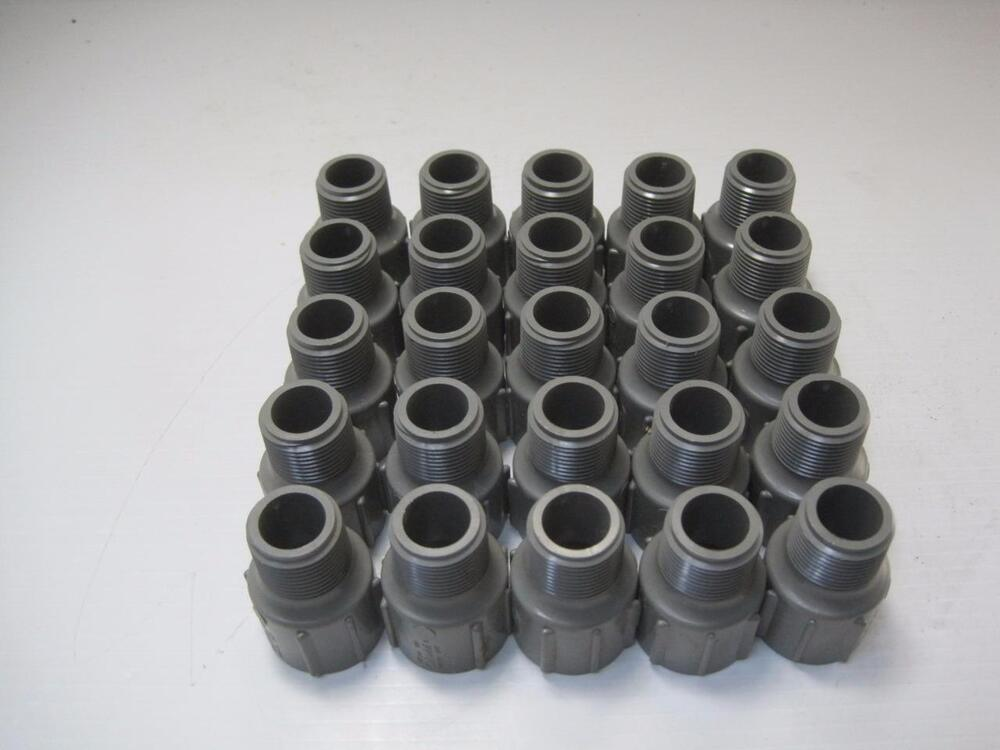 Lot colonial quot cpvc pipe fitting male adapter