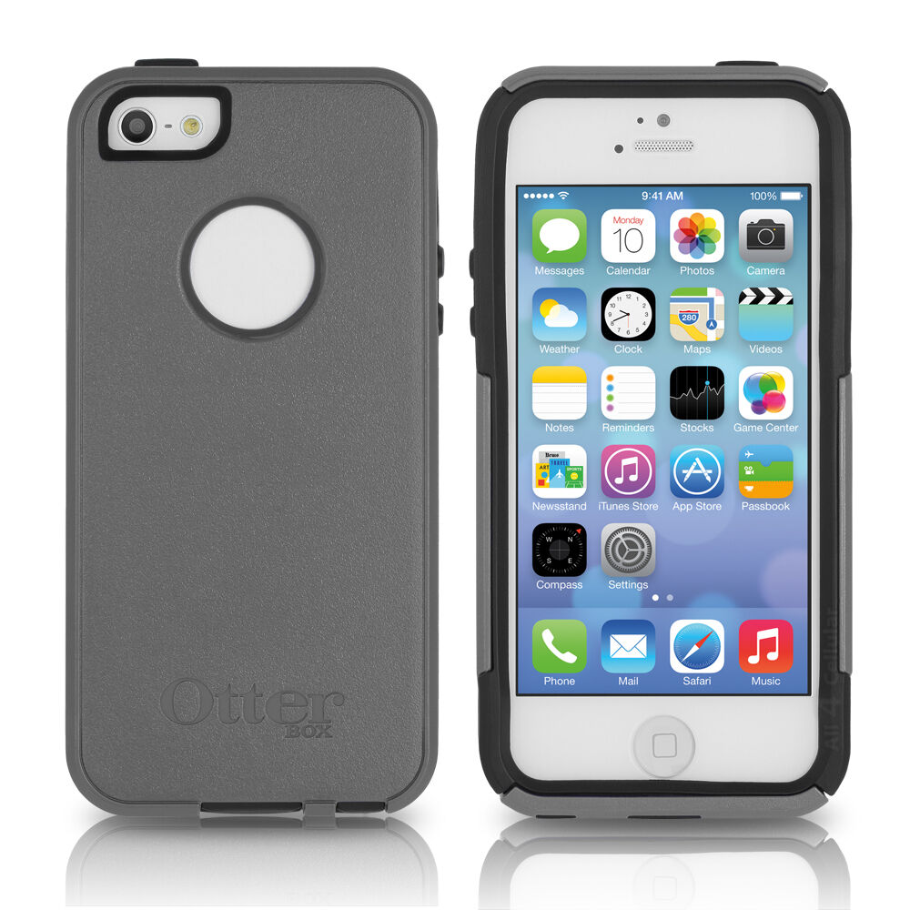 otterbox cases for iphone 5s otterbox iphone se 5s 5 commuter marine gray blue 17880