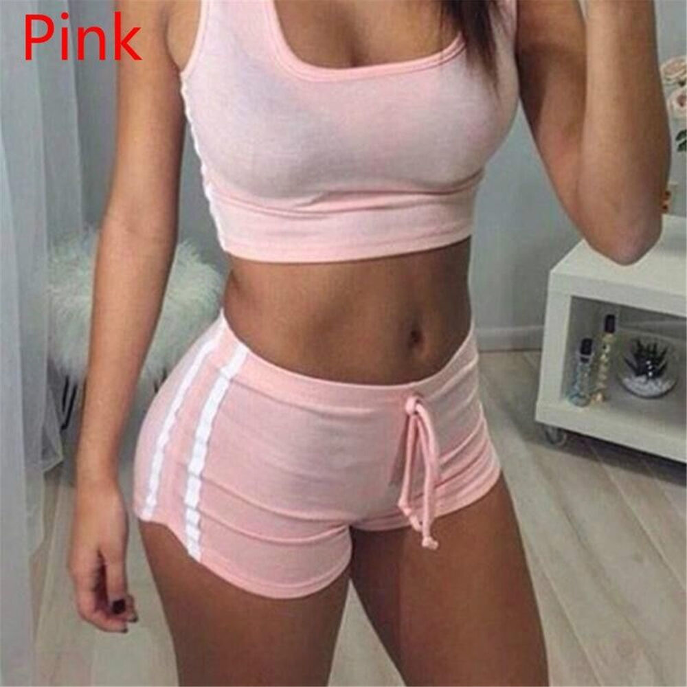 1Set 2PCs Women Workout Elastic Tracksuit Fitness Gym Yoga ...