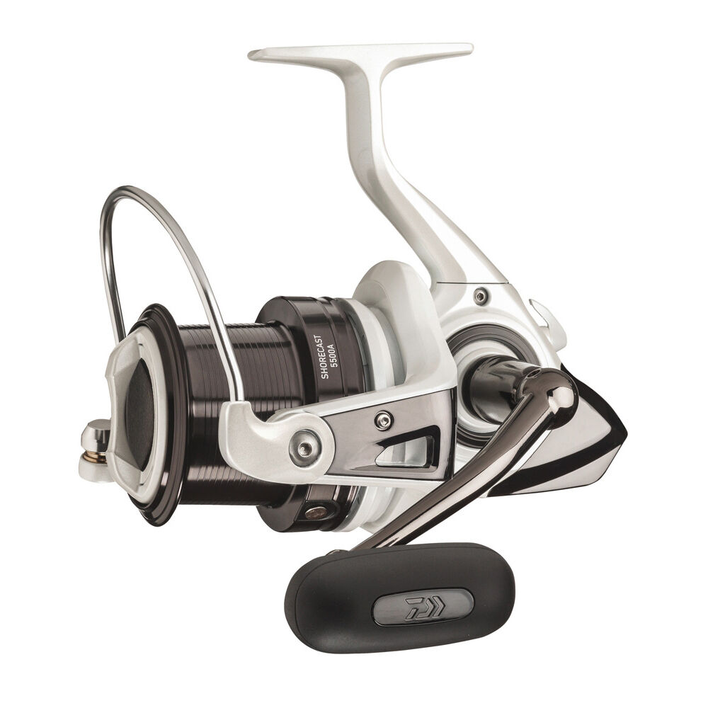 Daiwa shorecast 25a compact beach casting reel fixed spool for Bass pro fishing reels