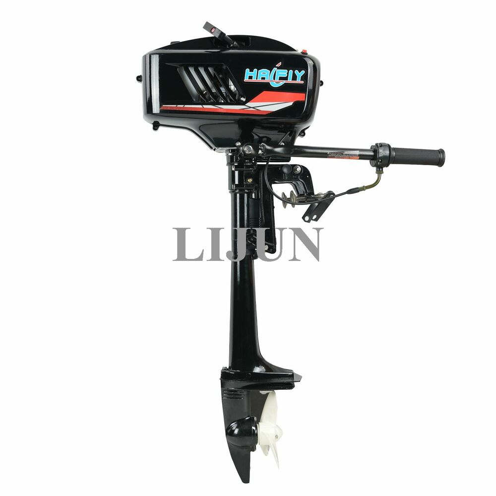 Outboard Motor Boat Engine With Water Cooling System 3 6 HP Two 2 Stroke  USA 754047677687   eBay