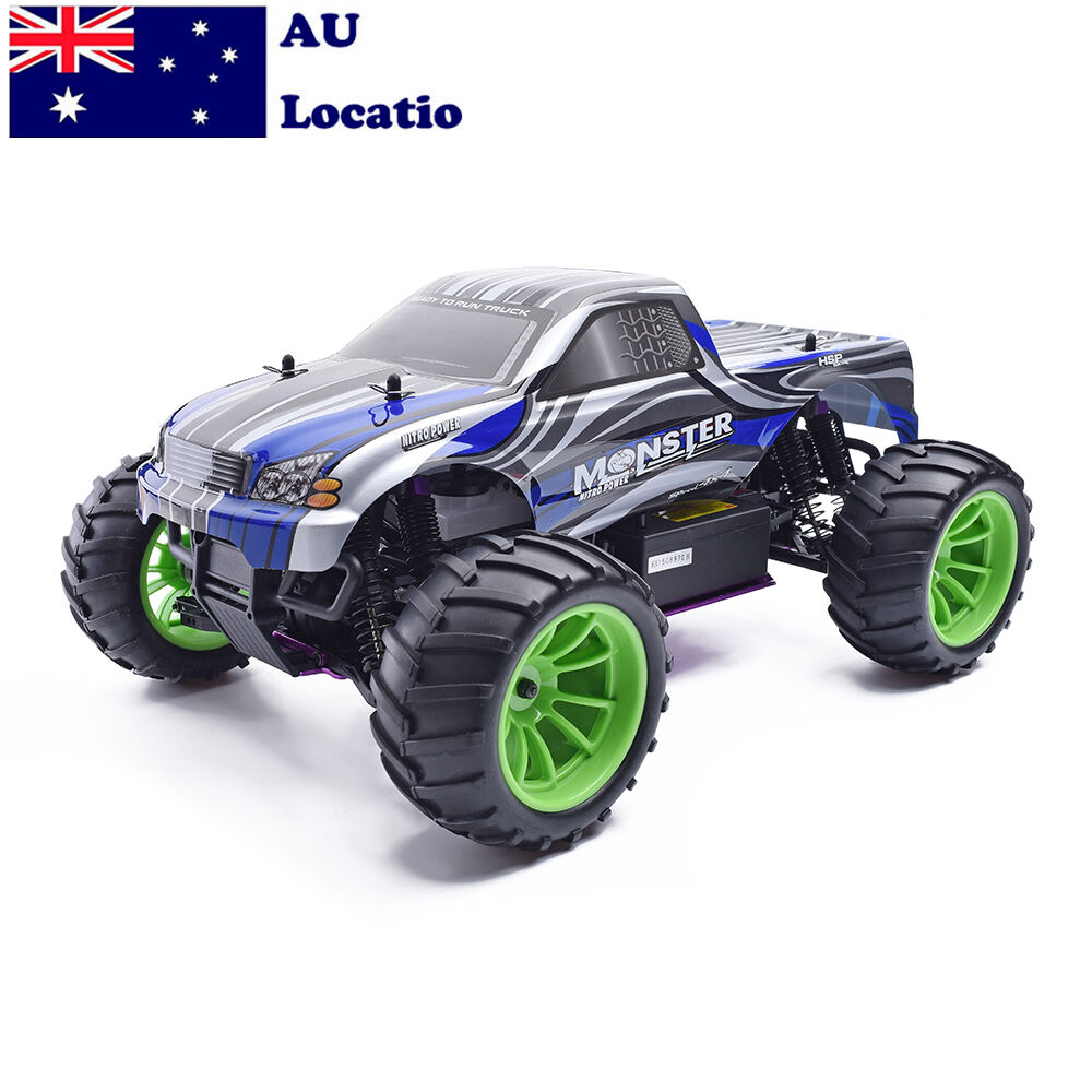 HSP 94108 1/10 Nitro Gas Fuel RC Car Monster Car Off Road