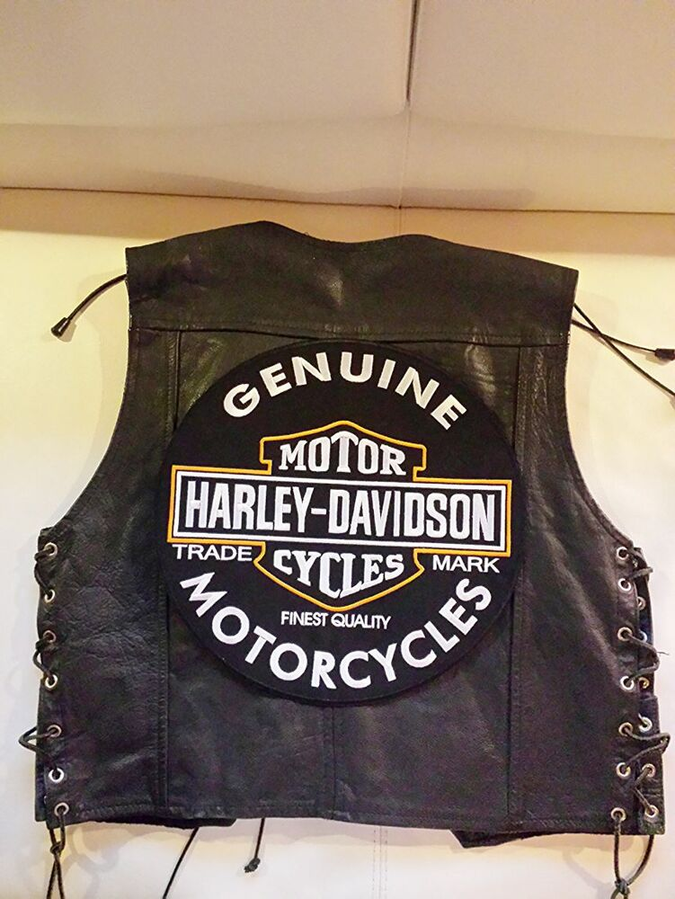 harley davidson backpatch genuine motorcycles oil xxl 32. Black Bedroom Furniture Sets. Home Design Ideas