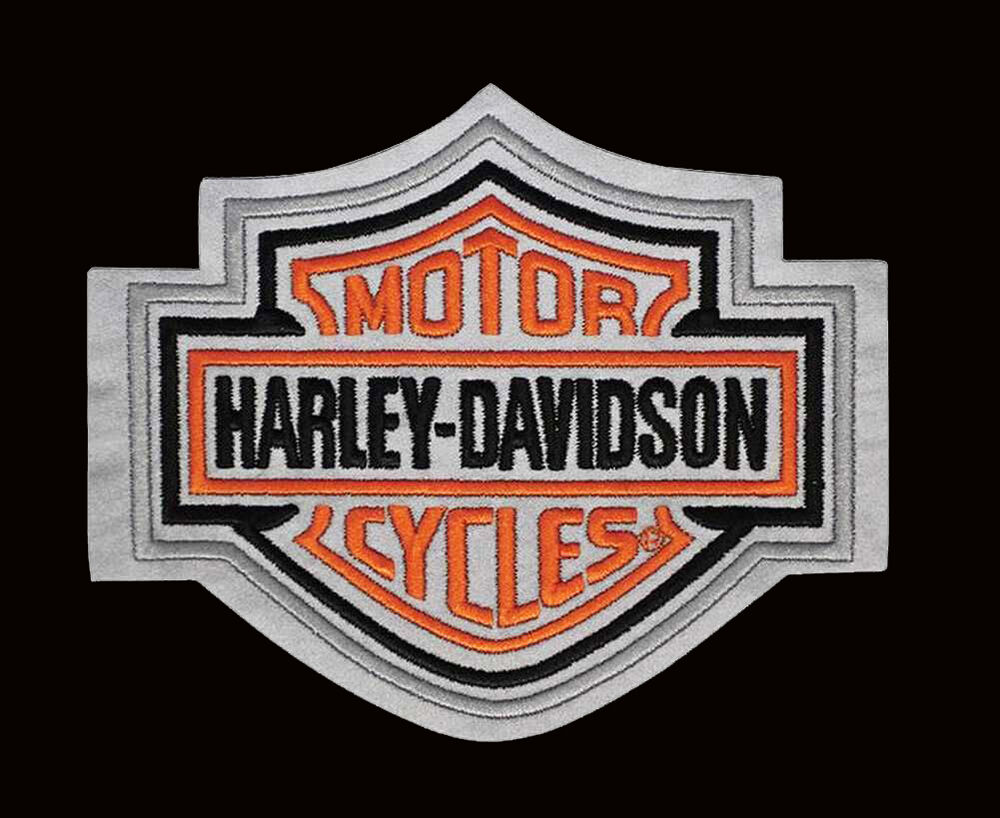 S Harley Davidson Patches