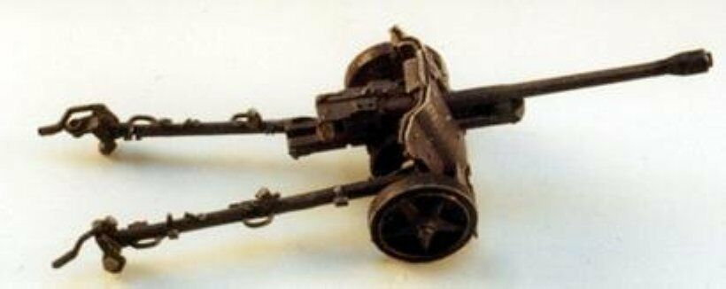 German 50 Mm Anti Tank Gun: Milicast G067 1/76 Resin WWII German 50mm PAK 38 Anti-Tank