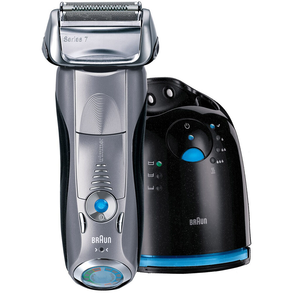 braun series 7 790cc 4 cordless electric foil shaver w. Black Bedroom Furniture Sets. Home Design Ideas