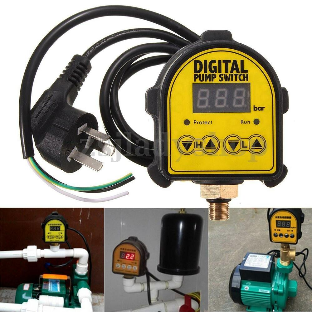 Automatic Digital Pressure Switch Controller On Off 220v