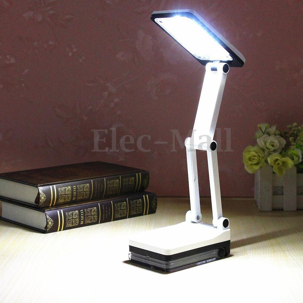 Bright Portable Folding 17 LED Reading Light Rechargeable ...