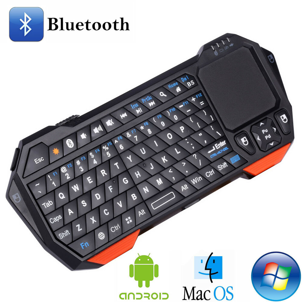 Wireless Portable mini Bluetooth Keyboard With Touchpad For Windows Android iOS | eBay