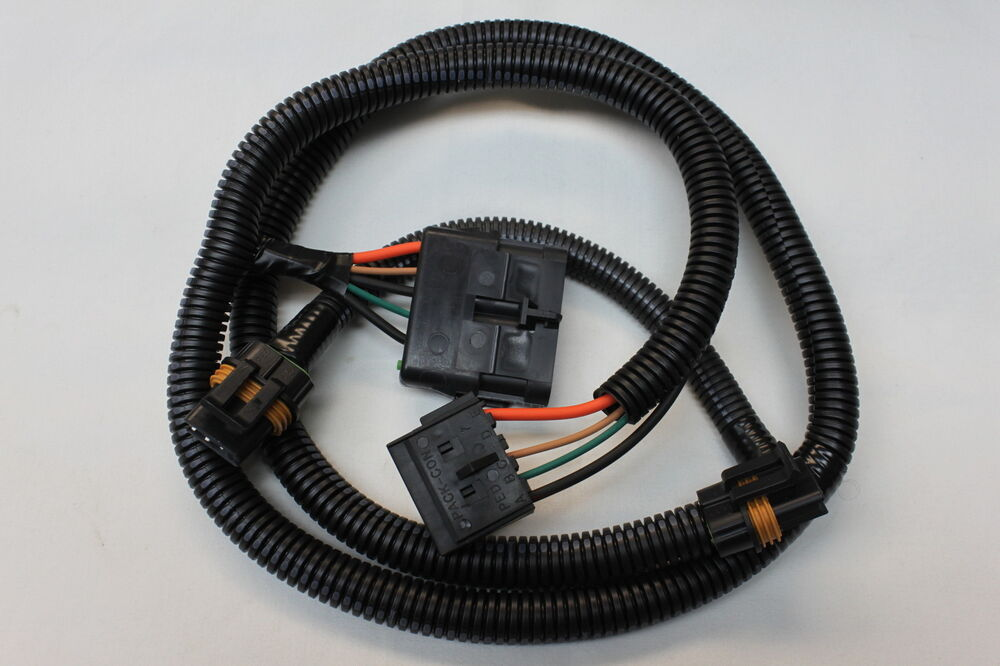 1987 camaro dual cooling fan wiring harness new tpi-wir ... 1989 jeep wiring harness #7