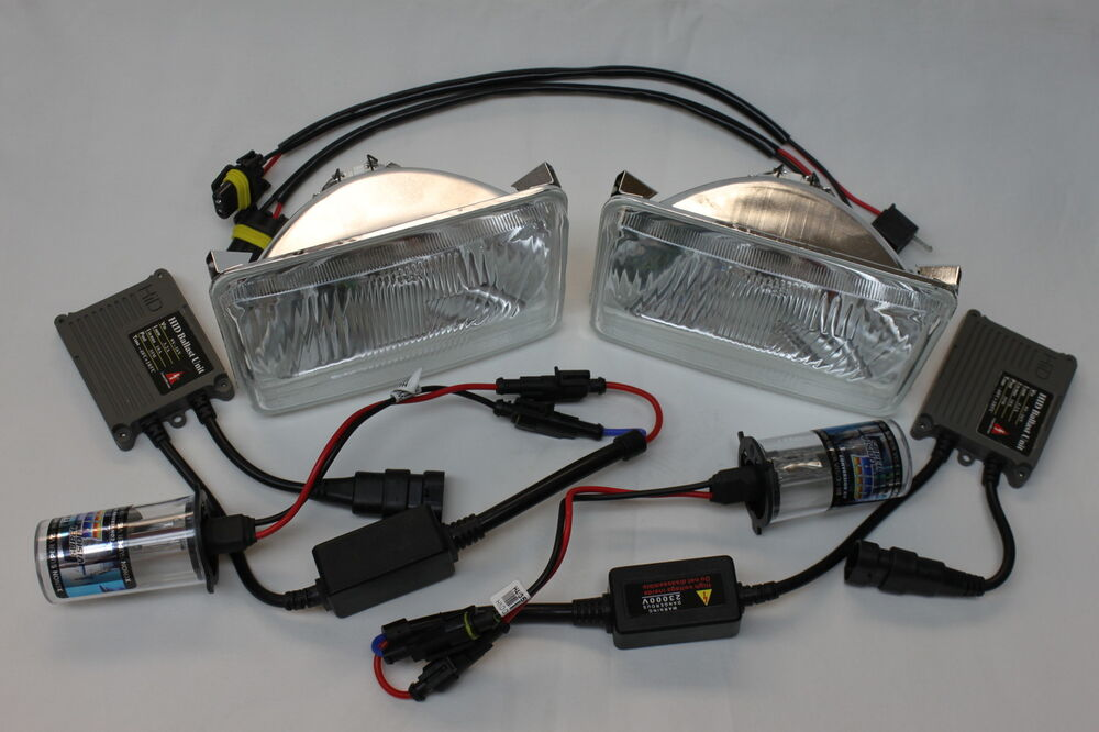 camaro iroc z28 rs hid headlight conversion kit w housings ebay. Black Bedroom Furniture Sets. Home Design Ideas