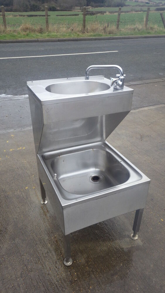Commercial Sink Stainless Steel 120 Cm Single Bowl