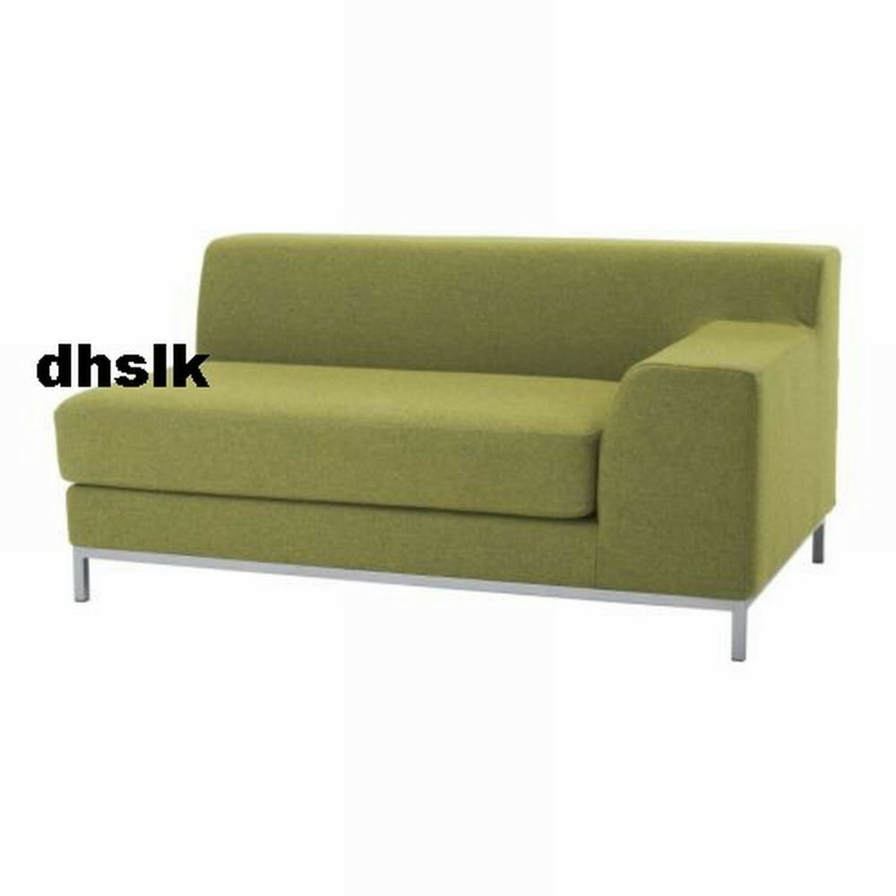 ikea kramfors cover 2 seat right arm loveseat sofa slipcover ullevi green ebay. Black Bedroom Furniture Sets. Home Design Ideas