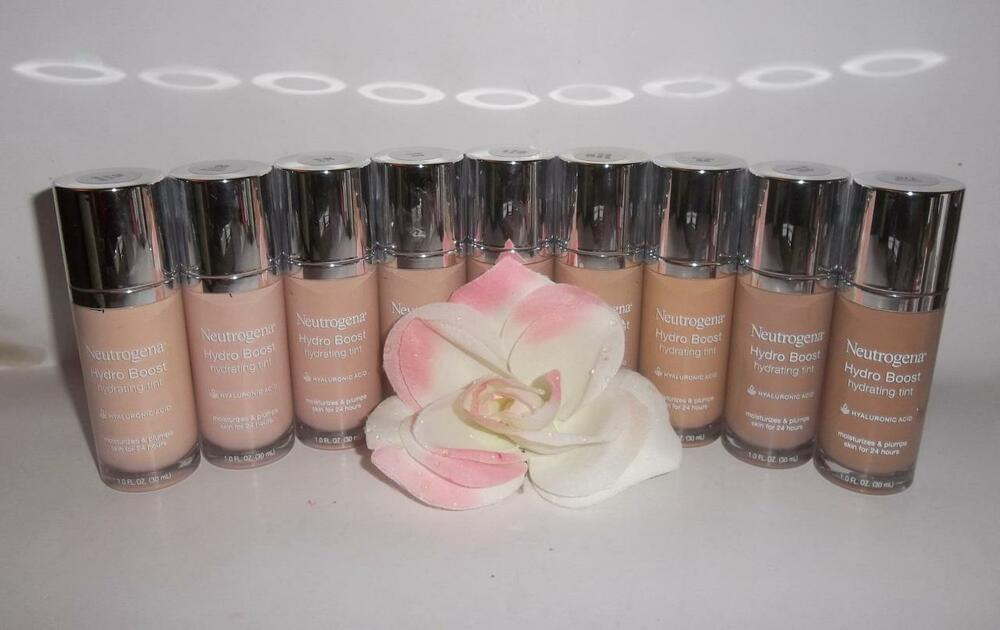 Neutrogena Hydro Boost Hydrating Tint Liquid Makeup Foundation 1oz YOU CHOOSE  | eBay