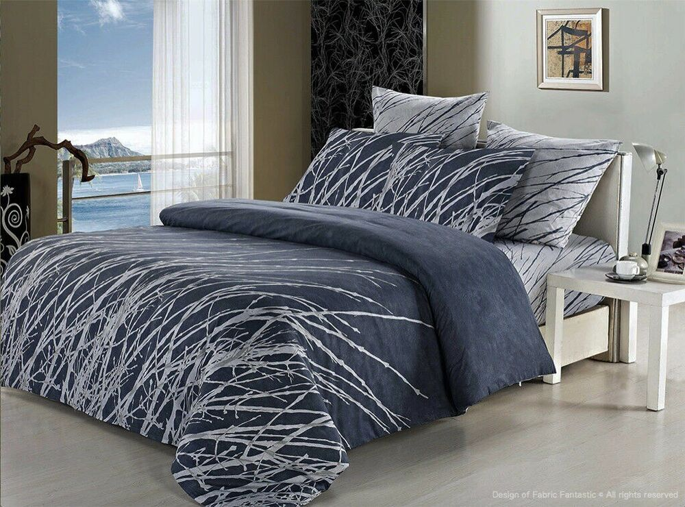 Esha Tree Double Queen King Size Bed Duvet Doona Quilt