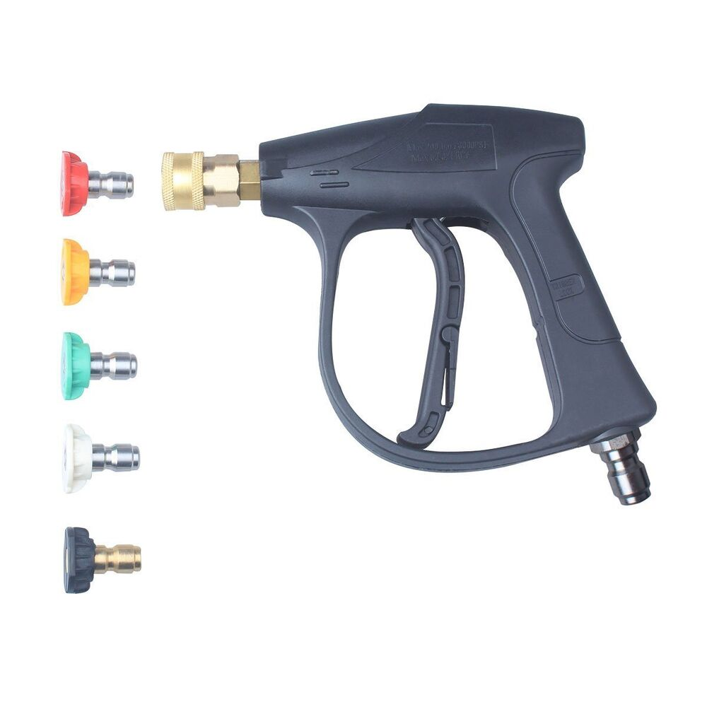 1 4 Quot 3000 Psi High Pressure Washer Gun With 5 Pressure